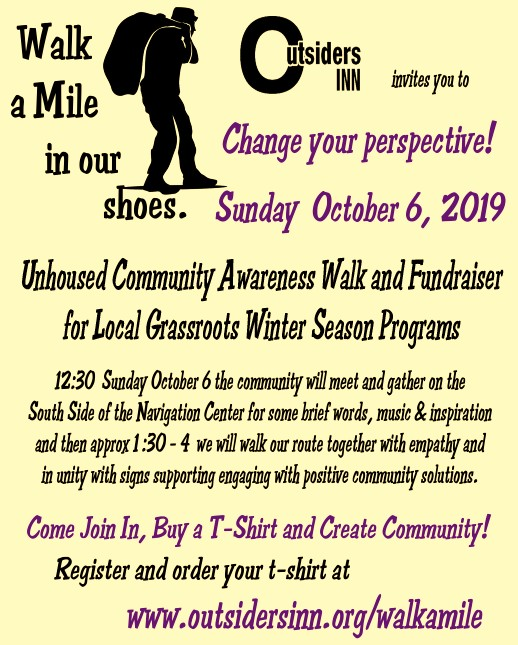 Walk A Mile in Our Shoes Community Event Oct 6